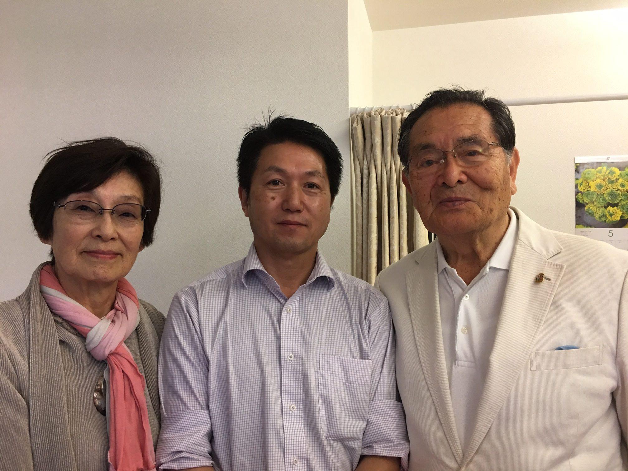 日本のラグビーの神様:脳梗塞のリハビリ