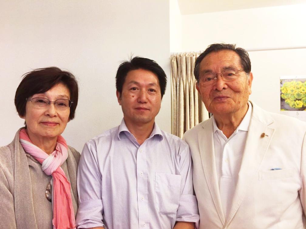 山口良治先生と奥様