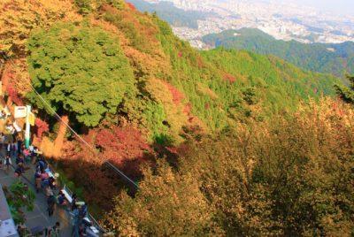 高尾山にハイキング(ヒロサワ)