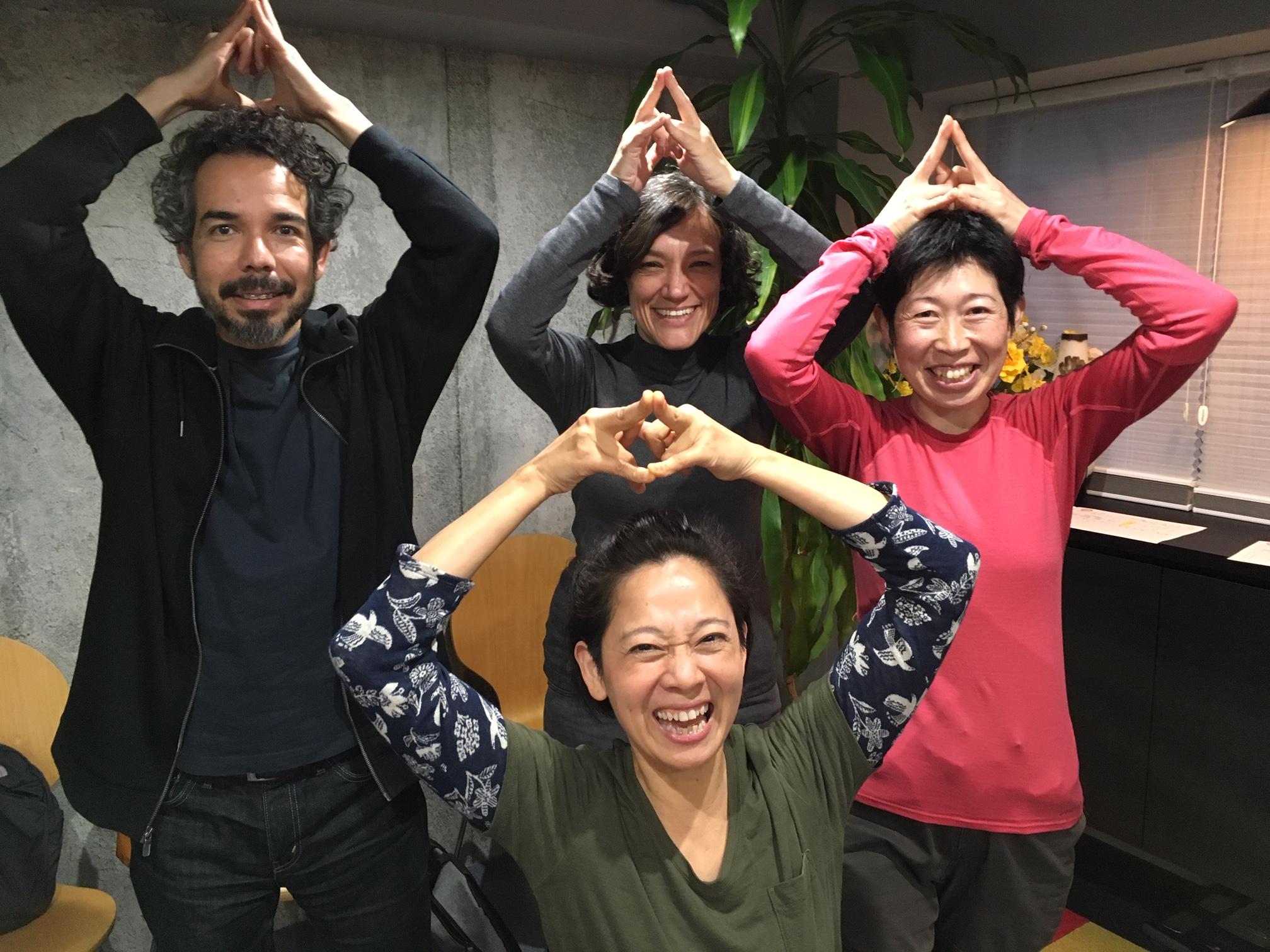 北海道とチリからの訪問者(ヒロサワ)